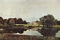 Malvern Hall, c.1821, constable