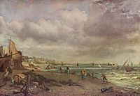 Marine Parade and Old Chain Pier, 1827, constable
