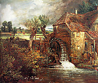 A Mill at Gillingham in Dorset, c.1826, constable