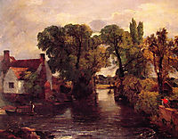 The Mill Stream, 1815, constable