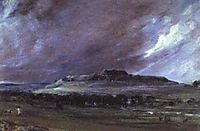 Old Sarum, 1829, constable