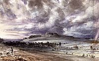 Old Sarum, 1834, constable