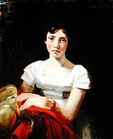 Portrait of Mary Freer, 1809, constable