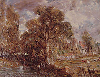 Scene on a River 2, c.1837, constable