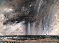 Seascape Study with Rain Cloud, c.1827, constable
