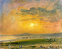 Shoreham Bay, Evening Sunset, constable