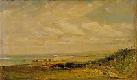 Shoreham Bay near Brighton, 1824, constable