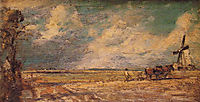 Spring Ploughing, 1821, constable