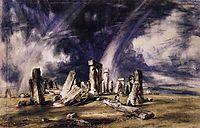 Stonehenge, 1835, constable