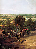 Stour valley and Dedham village, constable