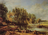 Stratford Mill, c.1820, constable