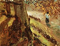 Study of tree trunks, constable