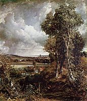 The Vale of Dedham, 1828, constable