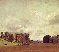 View at Epsom, 1809, constable