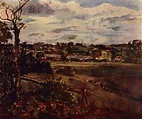 View of Highgate from Hampstead Heath, c.1834, constable