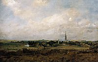 View of Salisbury , c.1820, constable