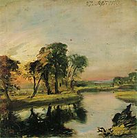 View on the Stour, constable