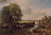 A View On The Stour Near Dedham, 1822, constable