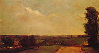 View towards Dedham, 1808, constable