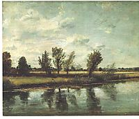 Water Meadows near Salisbury, 1820, constable