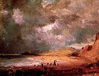 Weymouth Bay, c.1816, constable