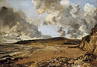 Weymouth Bay with Jordan Hill, 1816, constable