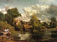 The White Horse, 1819, constable