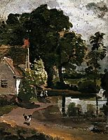 Willy Lot-s House, 1810, constable