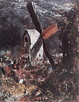 A Windmill near Brighton, constable