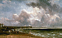 Yarmouth Pier, 1822, constable