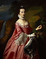 Anne Erving, Mrs.Duncan Stewart, copley
