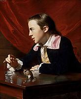 Boy with Squirrel (Henry Pelham), 1765, copley