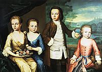 The Gore Children, c.1755, copley
