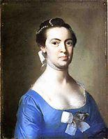 Lucretia Hubbard Towsend, 1765, copley