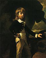 Midshipman Augustus Brine, 1782, copley