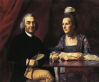 Mr.and Mrs.Isaac Winslow, 1773, copley