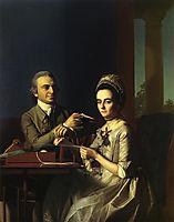Mr.and Mrs.Thomas Mifflin, 1773, copley
