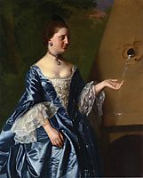 Mrs.Alice Hooper, c.1763, copley