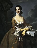Mrs.Daniel Hubbard (Mary Greene), 1764, copley