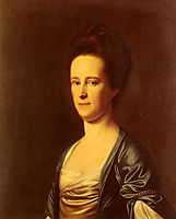 Mrs.Elizabeth Coffin Amory, 1775, copley
