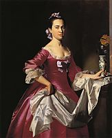 Mrs.George Watson (Elizabeth Oliver), 1765, copley