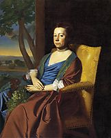 Mrs. Isaac Smith, 1769, copley