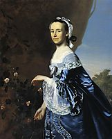 Mrs.James Warren (Mercy Otis), c.1763, copley