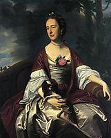 Mrs. Jerathmael Bowers, c.1763, copley