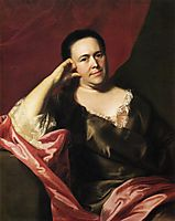 Mrs.John Scoally (Mercy Greenleaf), 1763, copley