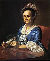 Mrs. John Winthrop (Hannah Fayerweather), 1773, copley