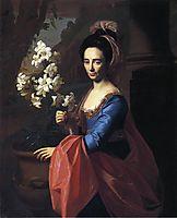 Mrs. Moses Gill (Rebecca Boylston), 1773, copley