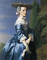 Mrs. Nathaniel Allen (Sarah Sargnet), c.1763, copley