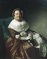 Mrs. Sylvanus Bourne, 1766, copley