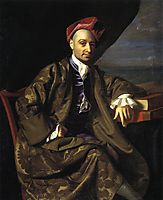 Nicholas Boylston, c.1769, copley